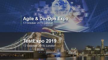 17 жовтня у Лондоні Test Expo 2019 та Agile &DevOps Expo.