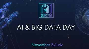 В місті Лева восени AI & Big Data Day 2018