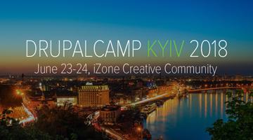 Влітку в Києві DrupalCamp Kyiv 2018