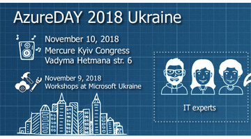 10 листопада відбудеться AzureDAY 2018 Ukraine