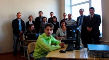В Конотопі відкрили сучасний комп'ютерний клас